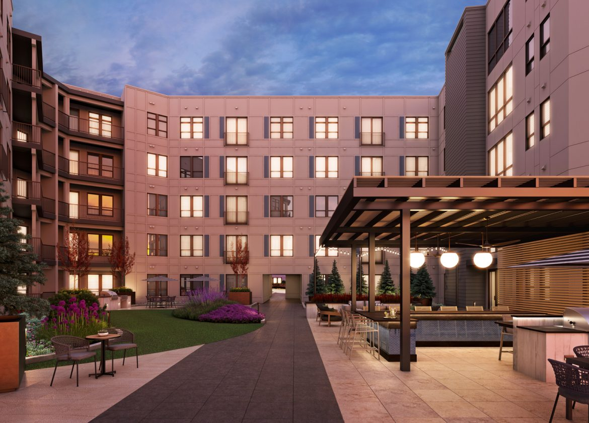 Alta Apartments Courtyard
